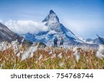 Hiking In The Swiss Alps With...
