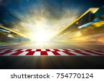 view of the infinity empty... | Shutterstock . vector #754770124