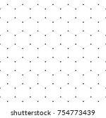 abstract seamless pattern... | Shutterstock .eps vector #754773439