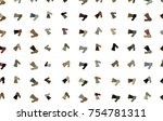 abstract illustrations of loud... | Shutterstock .eps vector #754781311