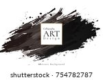 abstract ink background.... | Shutterstock .eps vector #754782787