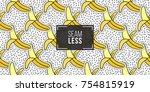 seamless pattern background... | Shutterstock .eps vector #754815919