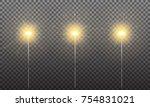sparkler. realistic sparklers...   Shutterstock .eps vector #754831021