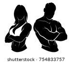 vector illustration of a... | Shutterstock .eps vector #754833757
