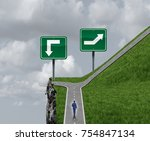 Easy Choice Decision Concept T...