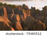 Landscape Of Pancake Rock Grand ...