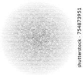 alphabet round background | Shutterstock .eps vector #754873951