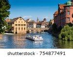 strasbourg  france  august 06... | Shutterstock . vector #754877491