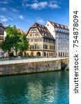 strasbourg  france  august 06... | Shutterstock . vector #754878094