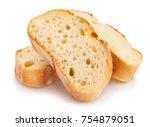 Sliced Baguette Bread Path...