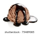 ice cream scoop | Shutterstock . vector #75489085