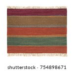 traditional handmade colorful... | Shutterstock . vector #754898671