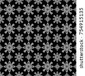 vector of geometric pattern | Shutterstock .eps vector #754915135