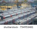 moscow  russia  oct 26  2017 ... | Shutterstock . vector #754953481