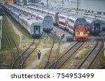 moscow  russia  oct 26  2017 ...   Shutterstock . vector #754953499