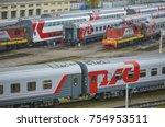 moscow  russia  oct 26  2017 ... | Shutterstock . vector #754953511
