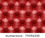 Seamless Red Leather Texture