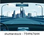 riyadh saudi arabia skyline | Shutterstock .eps vector #754967644