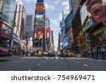 new york  usa   august 31  2017 ... | Shutterstock . vector #754969471