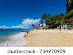 puerto vallarta  mexico  ... | Shutterstock . vector #754970929
