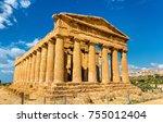 Temple Of Concordia In The...