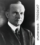 Small photo of President Calvin Coolidge. Ca. 1923-1928. From 1907 to 1920, Coolidge worked his way up Massachusetts State politics to election as Governor in 1918.