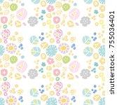 seamless illustration...   Shutterstock .eps vector #755036401