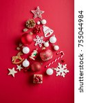 Christmas Tree Made Of Various...