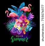 Tropical Summer Arrangement...