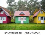 Small Wooden House In A...