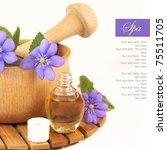 spa still life | Shutterstock . vector #75511705