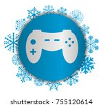 game christmas icon | Shutterstock .eps vector #755120614