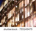 london office building... | Shutterstock . vector #755145475