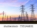 high voltage power tower...