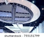 oval shape modern ceiling of...