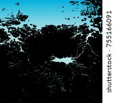 art grunge background abstract...   Shutterstock .eps vector #755166091