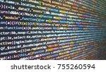 angularjs in editor for website ... | Shutterstock . vector #755260594