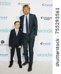 jacob tremblay and owen wilson... | Shutterstock . vector #755293561