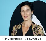 carrie anne moss at the los... | Shutterstock . vector #755293585