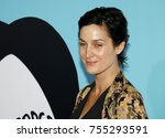 carrie anne moss at the los... | Shutterstock . vector #755293591