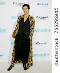 carrie anne moss at the los... | Shutterstock . vector #755293615