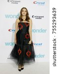 danielle rose russell at the... | Shutterstock . vector #755293639