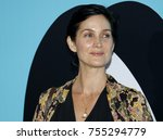 carrie anne moss at the los... | Shutterstock . vector #755294779