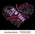 Wordcloud  Love Heart Of City...