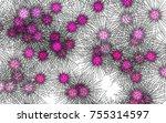 light colored vector texture... | Shutterstock .eps vector #755314597