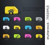 Bright Brilliant Website Icons...