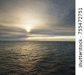 beautiful seascape of the... | Shutterstock . vector #755472751