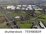 aerial view of junction 41... | Shutterstock . vector #755480839