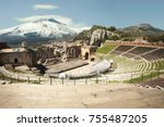The Ancient Theatre Of Taormin...