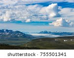 beautiful view from atop of...   Shutterstock . vector #755501341